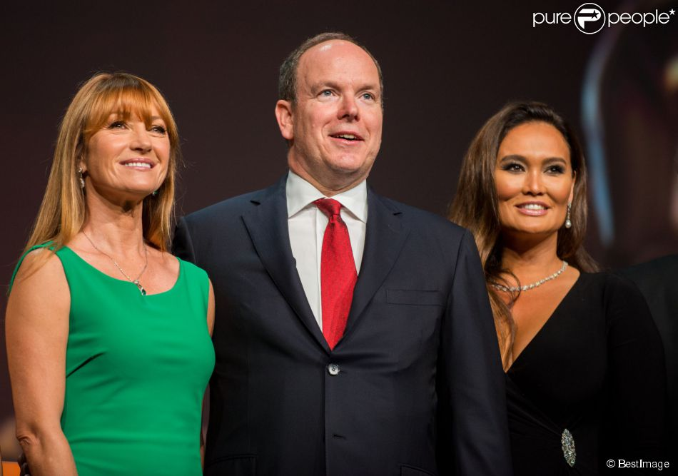 Jane Seymour, le prince Albert II de Monaco, Tia Carrere - Cérémonie d'ouverture du 54 ème festival de la Télévision de Monte-Carlo - le 7 juin 2014  Jane Seymour, HSH Prince Albert II of Monaco, Tia Carrere attend the opening ceremony of the 54th Monte Carlo TV Festival at the Grimaldi Forum on June 7, 2014 in Monte-Carlo, Monaco. Jane Seymour, HSH Prince Albert II of Monaco, Tia Carrere07/06/2014 - Monte-Carlo