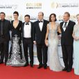 Andrea Joy Cook, Justin Chambers, Young Bellamy, Nick Wechler, le prince Albert II de Monaco, Ana Ortiz, Jeff Perry, Jennifer Morrison - Cérémonie de Cloture du 54ème Festival de télévision de Monte Carlo à Monaco le 11 juin 2014.  closing ceremony of the 54th Monte-Carlo Television Festival on June 11, 2014 in Monte-Carlo, Monaco.11/06/2014 - Monte Carlo