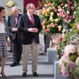 "Le Prince Albert II de Monaco et la Princesse Caroline de Hanovre assistent au 47ème concours international de Bouquets à Monaco le 14 Juin 2014, le 14 juin 2014.  Prince Albert II of Monaco and Princesse Caroline of Hanover during the 47th ""International Bouquet contest"" in Monaco, on June 14th 2014.14/06/2014 - Monaco"