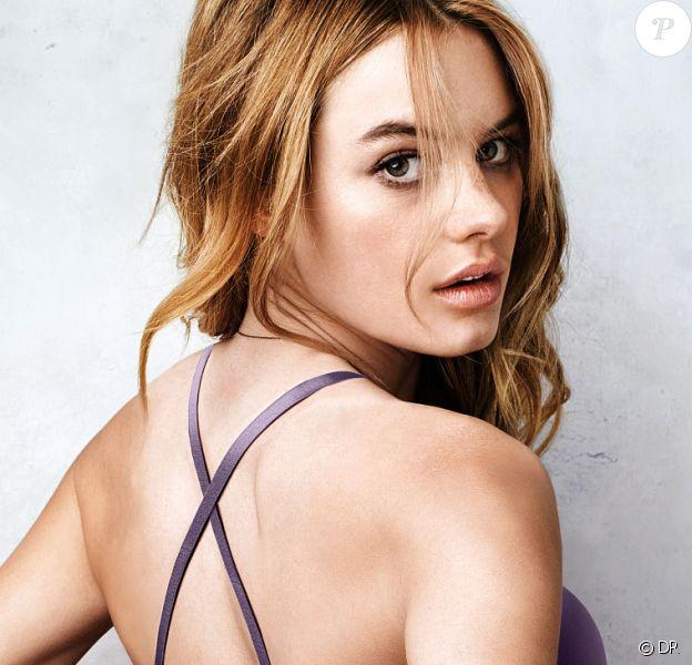 Camille Rowe, en lingerie pour Victoria's Secret.