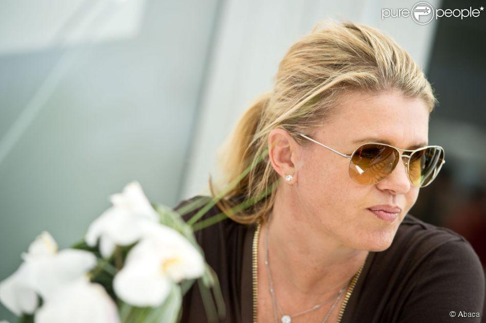 Corinna Schumacher dans le paddock lors du Grand Prix des Etats-Unis, le 18 novembre 2012 à Austin