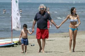 Flavio Briatore comblé : Papa poule sous les yeux de sa sublime Elisabetta