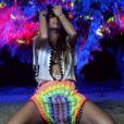 Nicole Scherzinger très sexy dans le clip de Your Love, révélé le 9 juin 2014.