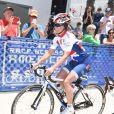 Pippa Middleton au départ de l'équipe britannique de la Michael Matthews Foundation pour la 33e Race to America, le 14 juin 2014 à Oceanside, San Diego (Californie). Le début d'un périple extrême de près de 5 000 km en huit jours, que seuls les plus costauds peuvent réussir à accomplir.
