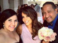 Eva Longoria : Sublime au bras de son José pour un beau mariage