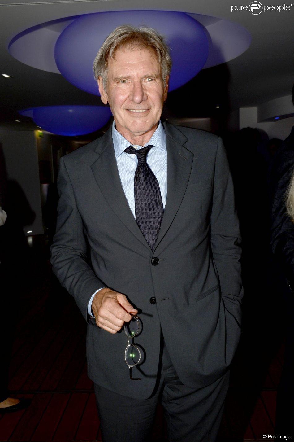 Harrison Ford - Soirée Vanity Fair Armani à l'Eden Roc au cap d'Antibes le 17 mai 2014