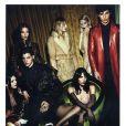 Kendall Jenner photographiée par Mert et Marcus pour la campagne Givenchy automne-hiver 2014-2015