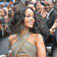 La chanteuse Rihanna à Paris, le 4 juin, 2014