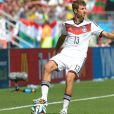 Thomas Müller lors du match de Coupe du monde entre l'Allemagne et le Portugal, le 16 juin 2014 à Salvador de Bahia