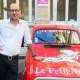 """Laurent Tirard (réalisteur du film) - Vernissage de l'exposition """"Les vacances du petit Nicolas"""" à la mairie du 4ème à Paris le 18 juin 2014."""