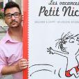 """Exclusif - Clément l'incruste de l'émission Touche pas à mon poste sur D8 (de son vrai nom Clément Lanoue) - Vernissage de l'exposition """"Les vacances du petit Nicolas"""" à la mairie du 4ème à Paris le 18 juin 2014."""