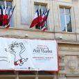 """Vernissage de l'exposition """"Les vacances du petit Nicolas"""" à la mairie du 4ème à Paris le 18 juin 2014."""