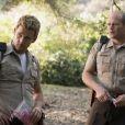 """Ryan Kwanten et Chris Bauer dans la 7e  saison et dernière saison de """"True Blood"""". À partir du 22 juin 2014 sur HBO et dès le lendemain en France sur OCS City."""
