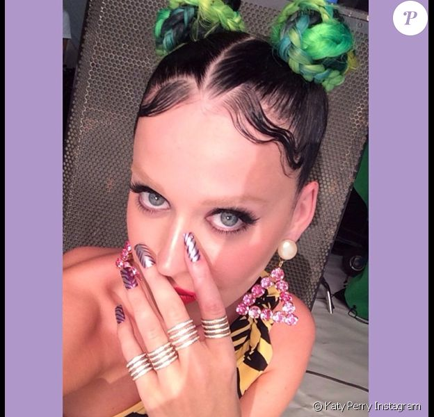 Katy Perry et son look douteux le 19 juin 2014.
