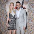 """Reid Scott et sa fiancée Elspeth Keller à la première de la saison 3 de """"Veep"""" à Los Angeles, le 25 mars 2014."""