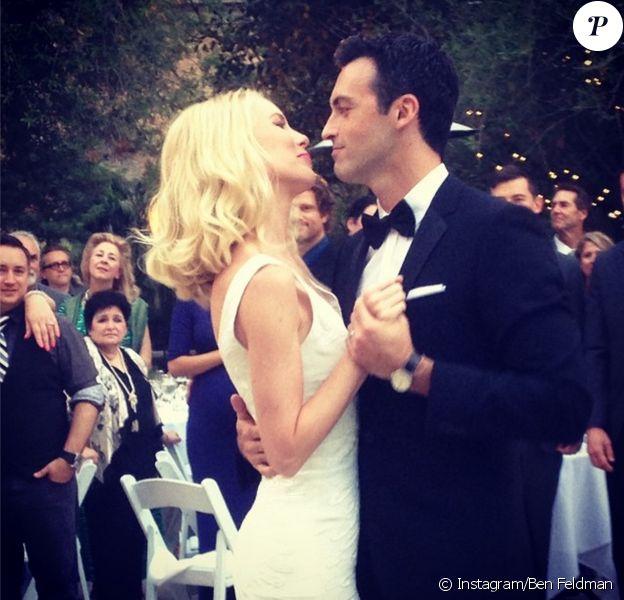 Mariage de Reid Scott et Elspeth Keller, le 21 juin 2014.