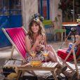 Laetitia Milot dans le prime-time Nos chers voisins fêtent le foot - diffusé le vendredi 4 juillet 2014, sur TF1