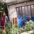 Laetitia Milot et Issa Doumbia dans le prime-time Nos chers voisins fêtent le foot - diffusé le vendredi 4 juillet 2014, sur TF1