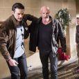 Frank Leboeuf et Gil Alma dans le prime-time Nos chers voisins fêtent le foot - diffusé le vendredi 4 juillet 2014, sur TF1