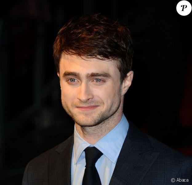 Daniel Radcliffe au BFI London Film Festival à Londres le 17 octobre 2013.