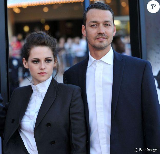 Rupert Sanders et Kristen Stewart lors de la projection de Blanche-Neige et le chasseur à Los Angeles le 29 mai 2012