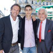 Stéphane Freiss et Louis Giscard d'Estaing : Pause gourmande avec leurs papas