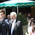 """Franck Provost - 9ème édition du déjeuner """"Pères & Fils"""" à Paris le 24 juin 2014."""