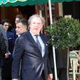 """Jean-Michel Wilmotte - 9ème édition du déjeuner """"Pères & Fils"""" à Paris le 24 juin 2014."""
