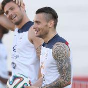 Équipe de France: Giroud, Valbuena, Griezmann, la folie des tatouages en images