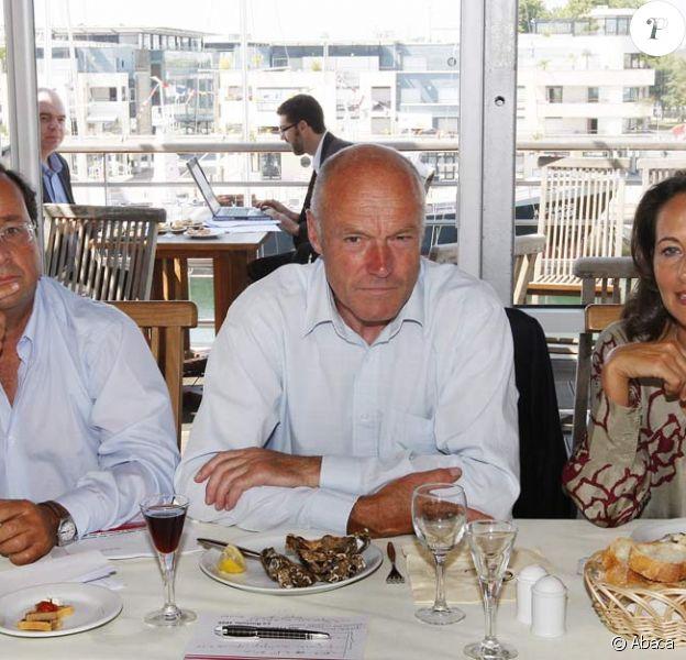Ségolène Royal et François Hollande, un déjeuner à la même table