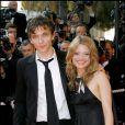 Le chanteur Raphaël et Mélanie Thierry - Festival de Cannes 2007
