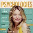 Mélanie Thierry en couverture de Psychologies magazine de juillet-août 2014