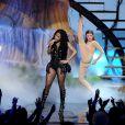 Nicki Minaj sur la scène des BET Awards au Nokia Theatre de Los Angeles, le 29 juin 2014.