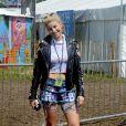 Phoebe-Lettice Thompson à Glastonbury, le 29 juin 2014.