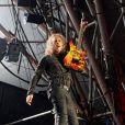 Metallica à Glastonbury, le 28 juin 2014.