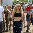 Ellie Goulding à Glastonbury, le 29 juin 2014.