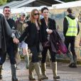 Stella et Mary McCartney à Glastonbury, le 28 juin 2014.