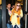 Lindsay Lohan et Vikram Chatwal à New York le 2 mai 2012.