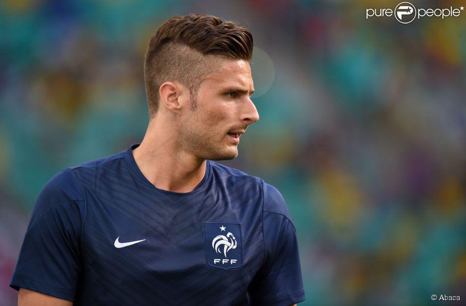 Olivier giroud - Coupe de cheveux de footballeur ...