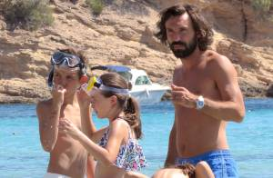 Andrea Pirlo à Ibiza : Vacances en famille pour oublier le divorce et le Mondial