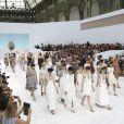 Défilé Chanel haute couture automne-hiver 2014-2015 au Grand Palais. Paris, le 8 juillet 2014.