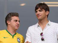 Mondial 2014 : Ashton Kutcher supporter surprise pour l'humiliation du Brésil