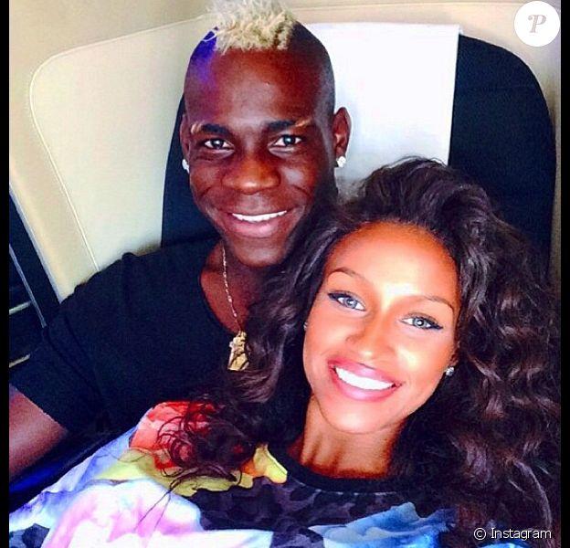 La bombe Fanny Robert Neguesha, petite amie du footballeur Mario Balotelli