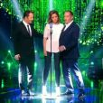 Arthur, Sandrine Quétier et Messmer (Stars sous hypnose, le vendredi 11 juillet 2014 sur TF1.)