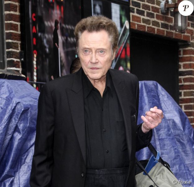 Christopher Walken à Manhattan, le 11 juin 2014.