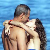 Jeff Goldblum et sa fiancée aux anges : Emportés par l'amour... et les vagues