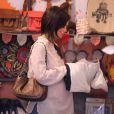 Rachel Bilson (enceinte) fait du shopping dans un magasin de vêtements pour bébé à West Hollywood, le 14 juillet 2014.