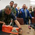 Les experts malaisiens ont récupéré les boîtes noires du vol MH17 de la Malaysian Airlines à Donetsk en Ukraine le 22 juillet 2014.