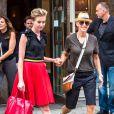 Ellen DeGeneres et sa femme Portia de Rossi à New York, le 19 juin 2014