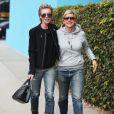 Ellen DeGeneres et Portia De Rossi à West Hollywood, le 15 novembre 2013
